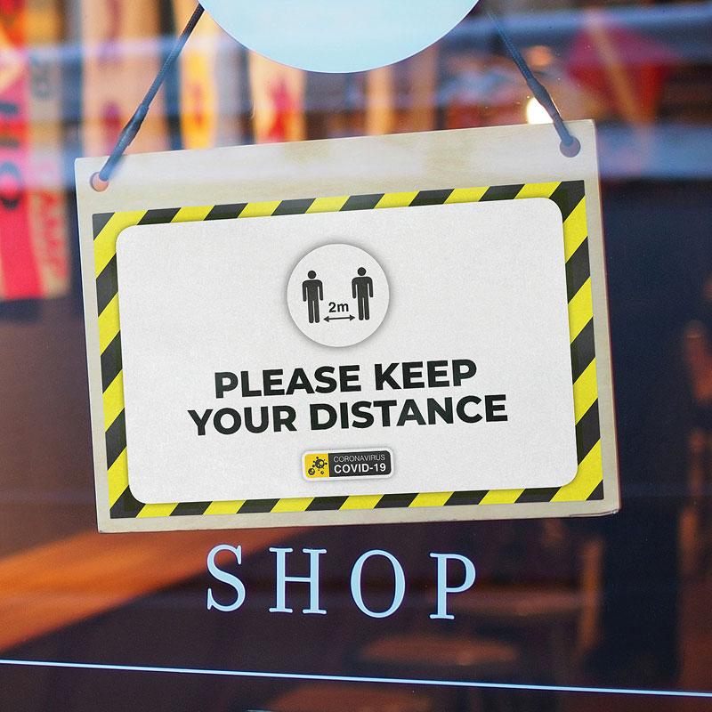 Shop Door Sign