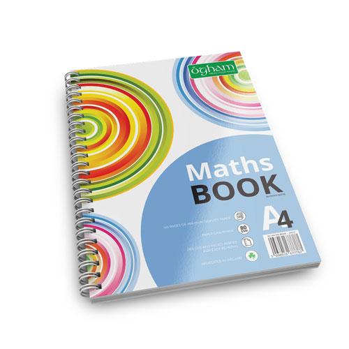 A4 Ogham Maths Book