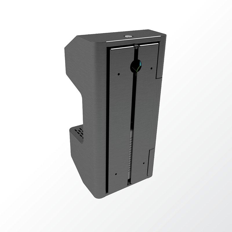 COVID-19 Wall Mounted Steel Hand Sanitiser Dispenser - Back
