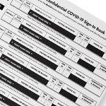GDPR Confidential Covid Sign-In Book