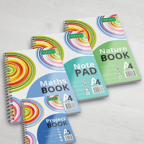 Ogham Notebook Range