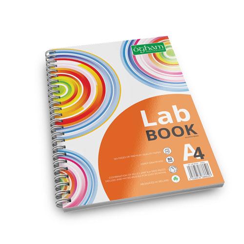 A4 Ogham Lab Book